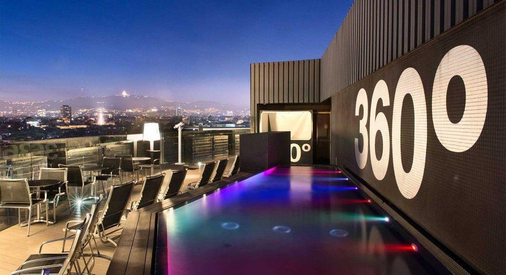Terraza 360º Hotel Barcelo Raval Terrazeo
