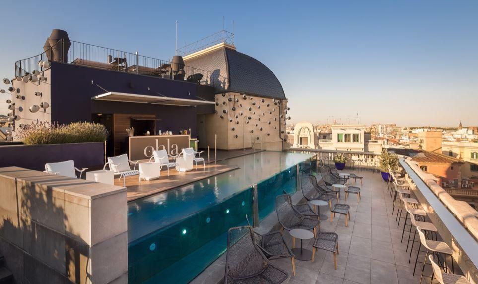 Hotel ohla terraza terrazeo - Terrazas chill out ...