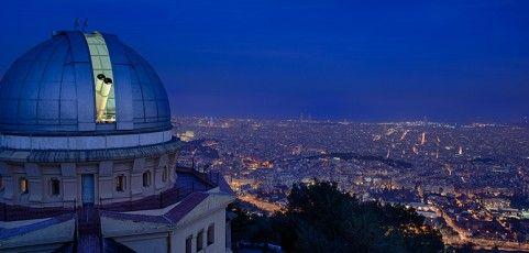 Cenas con estrellas en el Observatorio Fabra