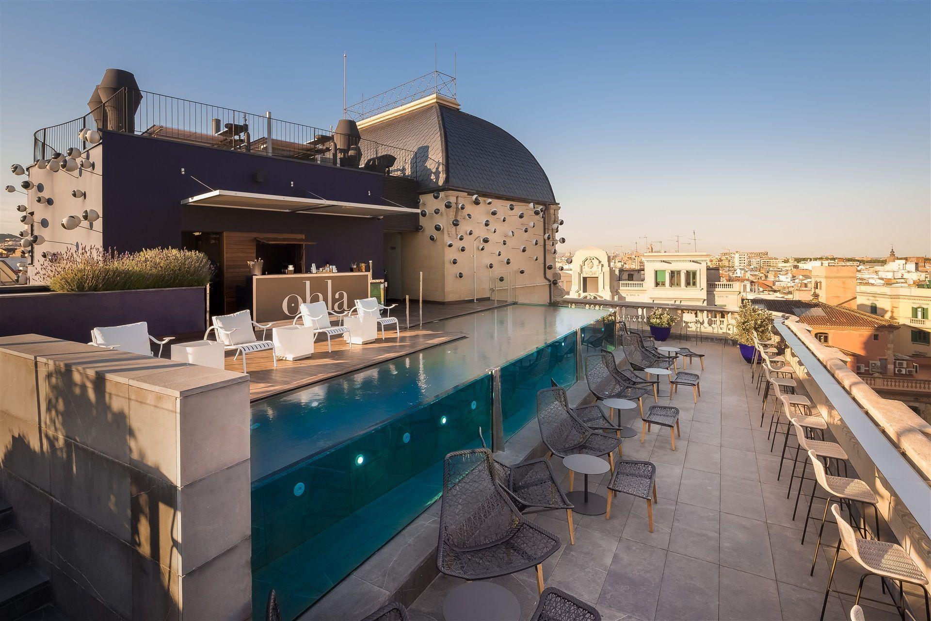 Las mejores terrazas de hotel en barcelona 2018 terrazeo for Ohla hotel barcelona
