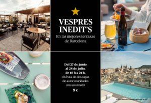 Vespres Inedit´s 2019 @ Varias terrazas de Barcelona | Barcelona | Cataluña | España