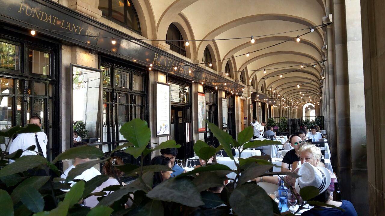 7 portes terrazeo for 7 portes barcelona menu