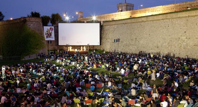 Cinema A La Fresca Barcelona 2014 Terrazeo