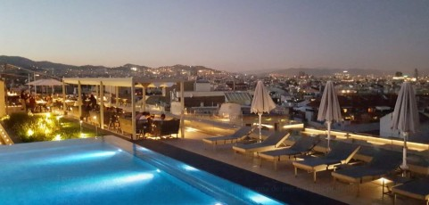 173 Rooftop Terrace   Crowne Plaza Hotel