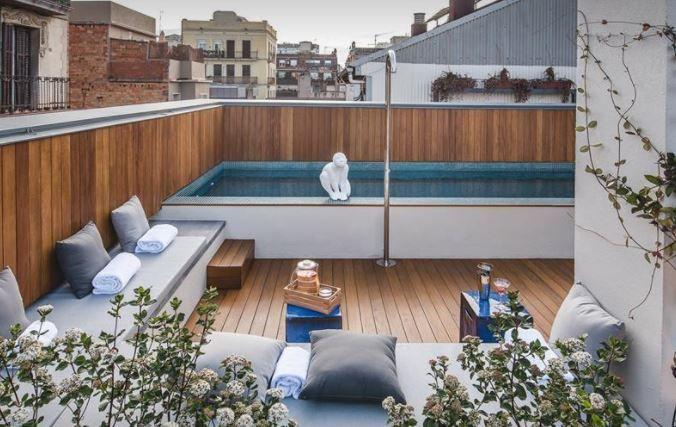 Terraza de la lluna hotel la casa del sol terrazeo - La casa del sol ...