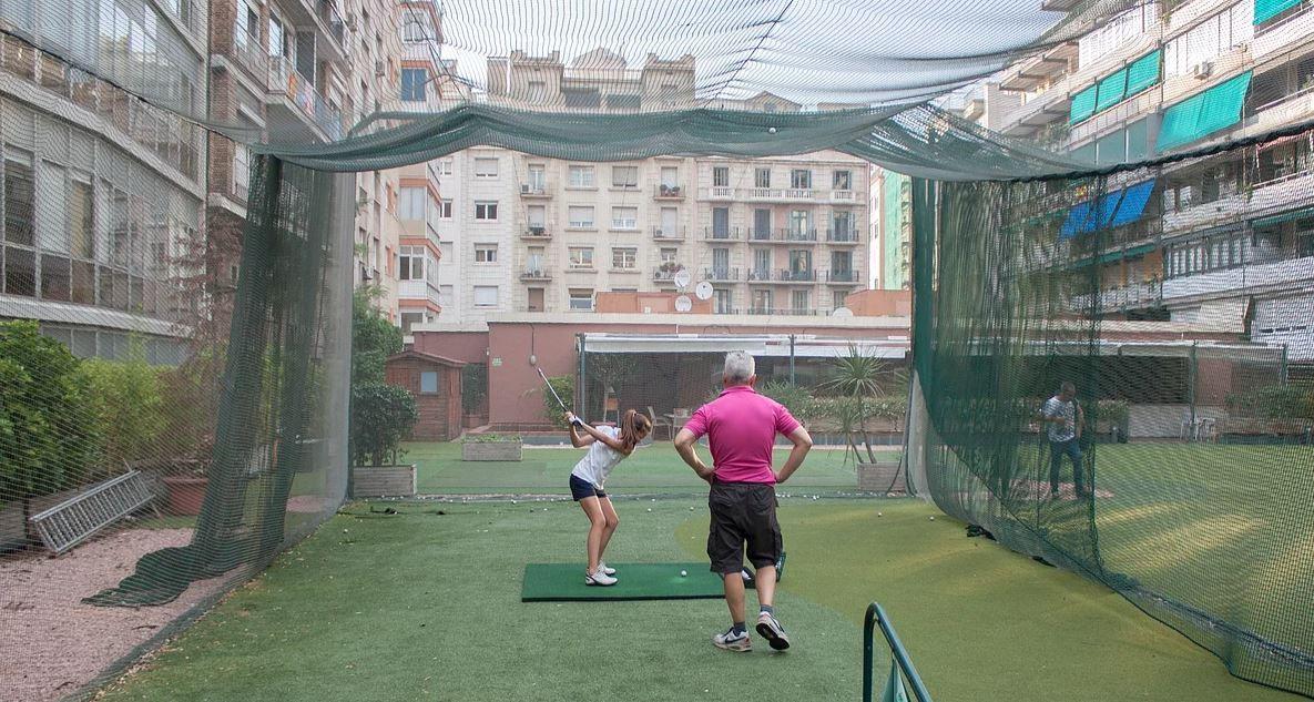 Catalonia Golf tiro