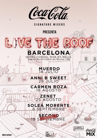 Conciertos Live The Roof 2019