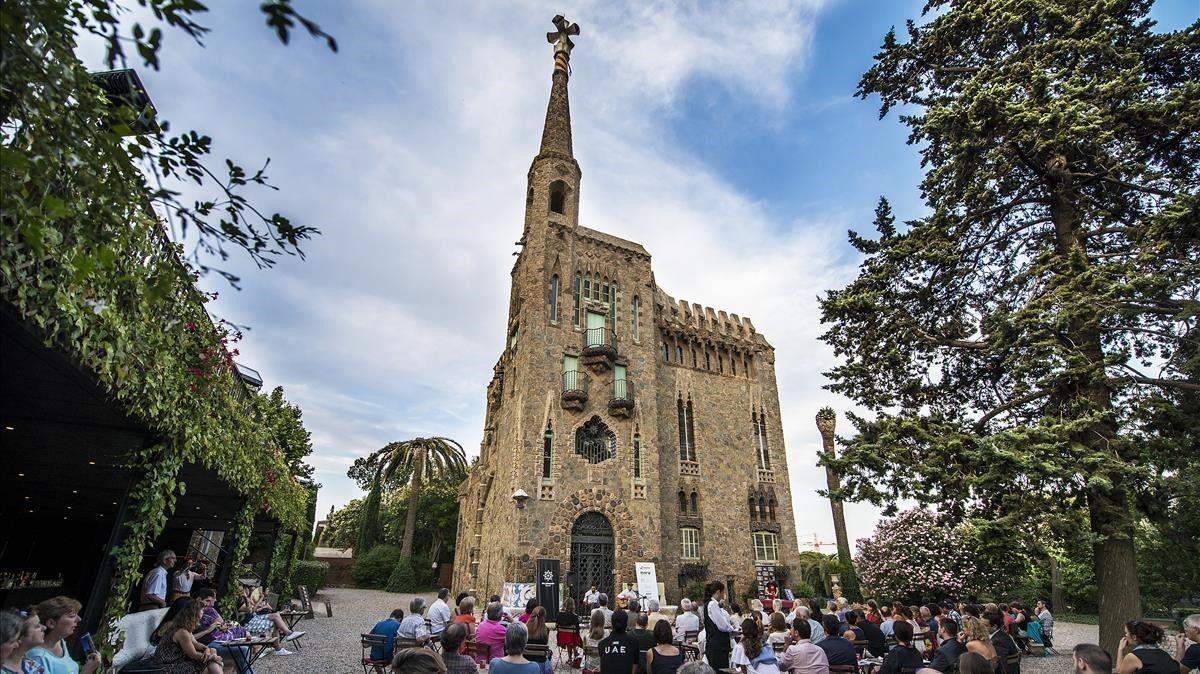 BARCELONA 16 07 2014 Distritos Ciclo de conciertos de blues en la torre modernista Bellesguard en las Nits Gaudi FOTO FERRAN SENDRA