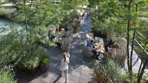 @ Jardín Mimosa- Hotel Mandarin Oriental Barcelona
