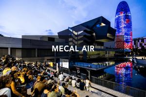Mecal Air @ Jardines Elisava, en el lago del DHUB, Museu del Disseny